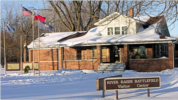 River Raisin Battlefield Visitors Center: Site of the Commemoration of the Battle of the Raisin